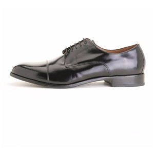 Florsheim Broxton Black Cap Toe Lace-Up