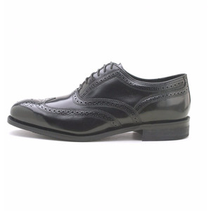 Florsheim Lexington Black Leather Wing-Tip