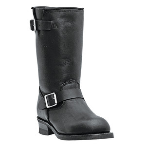 Dingo Rob Black Genuine Leather Boots
