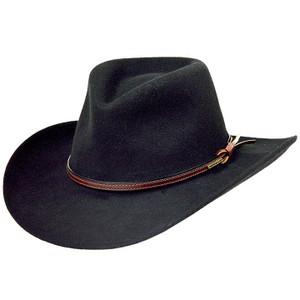 Stetson Bozeman Black Wool Western Hat