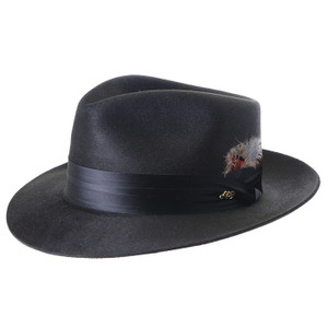 Dobbs Black Silk Finiah Hat