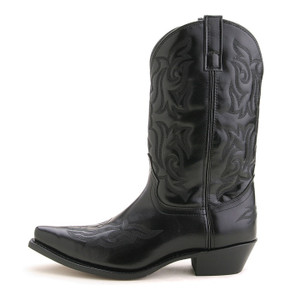 Laredo Hawke Black Dress Western Boot