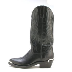 Laredo Black Crazy Horse Leather Boot