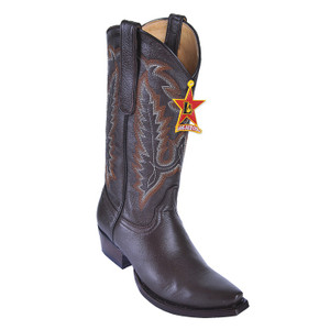 Los Altos Women's Brown Genuine Deerskin Boots