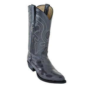 Los Altos Grey J-Toe Genuine Eelskin