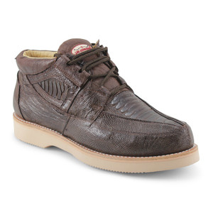 Los Altos Brown Genuine Ostrich Leg