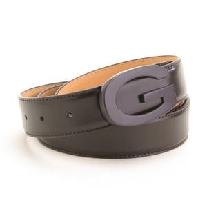 Marco Valentino Dark Brown Leather Dress Belt