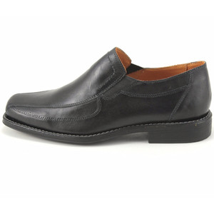 Sandro Moscoloni Berwyn Black Leather Slip-ons