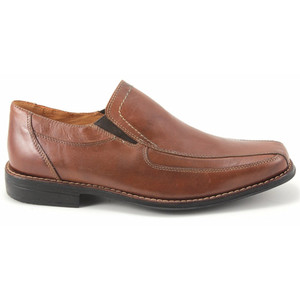 Sandro Moscoloni Berwyn Tan Leather Slip-ons