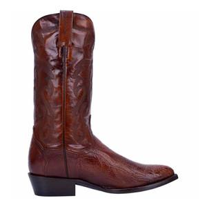 Dan Post Bellevue Tan Genuine Ostrich & Leather Boot