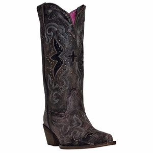 Laredo Lucretia Black & Tan Leather Boot
