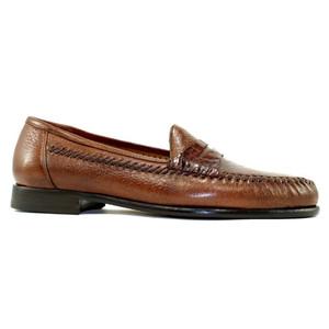 Alan Payne Amalfi Antique Honey  Deerskin Loafers