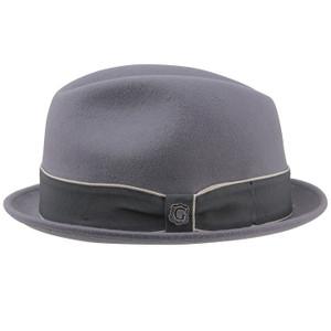 Bigalli Down town Gray Felt Wool  Hat