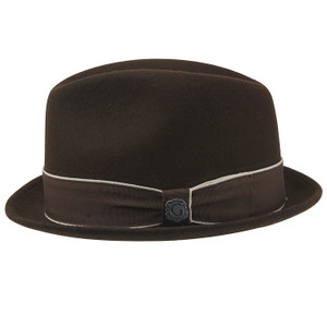 Bigalli Downtown Chocolate Wool Felt Hat