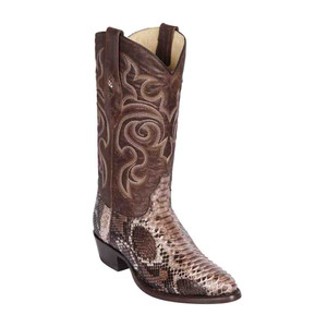 Los Altos Exotic Boots Genuine Python Skin