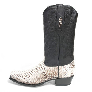 Los Altos Natural Python Boot