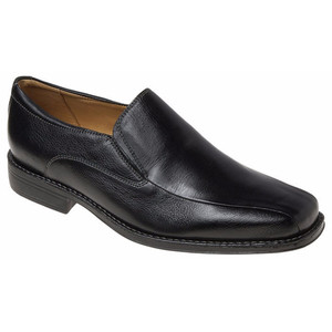 Sandro Moscoloni Jacobs Black Leather Dress Loafers