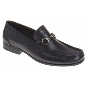 Sandro Moscoloni Malibu Black Genuine Leather Loafers