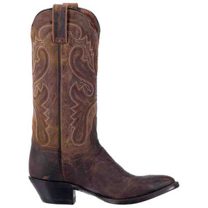 Dan Post Apache Marla Brown Shaft Leather Boots