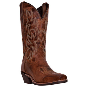 Laredo Breakout Rust Brown Genuine Leather Boots