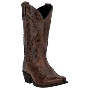 Laredo Laramie Rust Brown Genuine Leather Boots