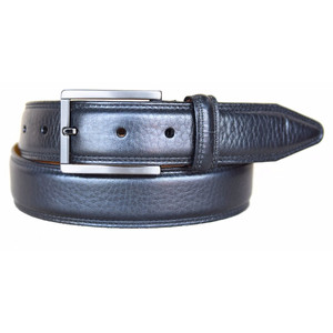 Lejon Dignitary Black Genuine Leather Belt