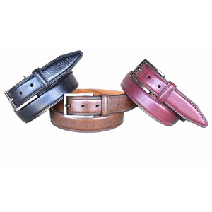 Lejon Dignitary Brown Genuine Leather Belt