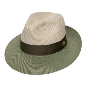 Dobbs Toledo Ivory & Olive Straw Hat