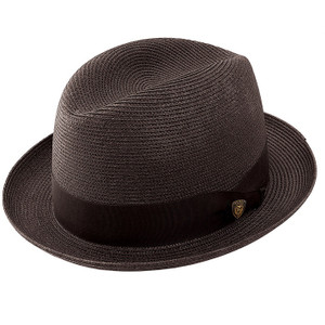 Dobbs Parker Black Fabric Hat