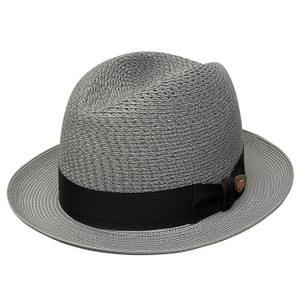 Dobbs Madison Gray Straw Hat