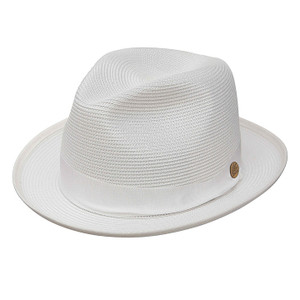 df23095ca58 Stetson Cool Way Beige   Brown Straw Hat