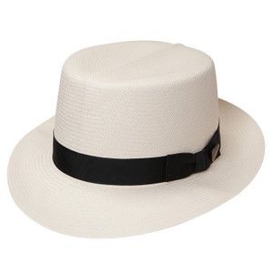 Dobbs Optimo Cream Straw Hat