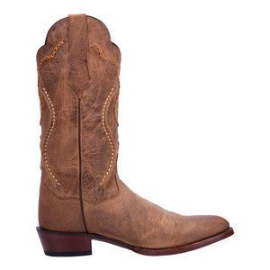 Dan Post Bucklace Tan Distressed Leather Boots