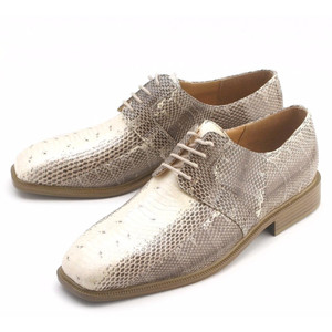 Giorgio Brutini Slaton Natural Snakeskin Oxfords