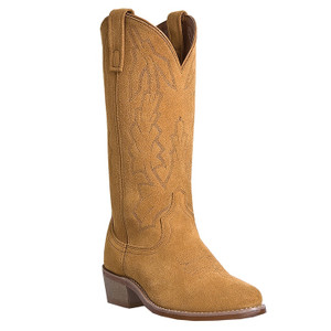 Laredo Natural Suede Cowboy Boot