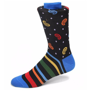 Tallia Multicolor Printed Socks