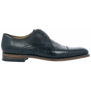 STACY ADAMS Madison II Black Leather Oxford Shoes
