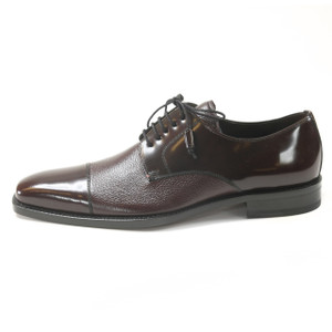 Mezlan Soka Burgundy Oxfords Real Deerskin