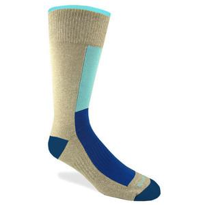 Remo Tulliani Anoki Beige & Blue Dress Socks