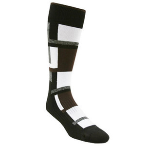 Remo Tulliani Sioux Black & White Dress Socks
