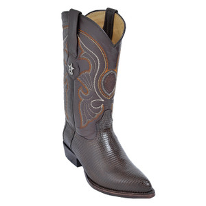 Los Altos Brown J-Toe Genuine Teju Lizard 990607