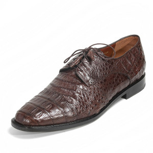Los Altos Brown Genuine Caiman Oxford
