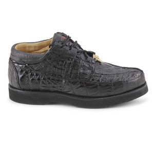 Los Altos Black Genuine Caiman ZA060105