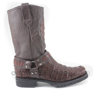 Los Altos Brown Genuine Crocodile 550107