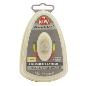 Justin Blair Kiwi Express Clear Shoe Shine Sponge