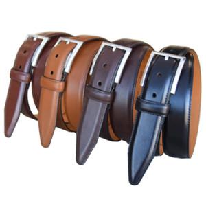 Lejon Executive Brown Full Grain Leather Belt