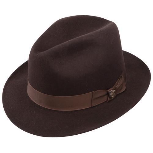 a3758cbbc272e Dobbs Fox Brown Wool Hat