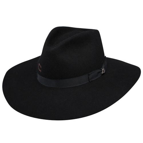 Charlie 1 Horse Highway Black Western Hat