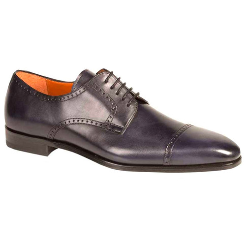 Boas Black Genuine Calfskin Oxfords by Mezlan