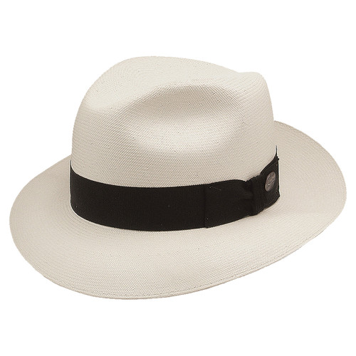 8704283f2a2 Stetson Bentley Natural 3-Bu Shantung Firm Finish Straw Hat